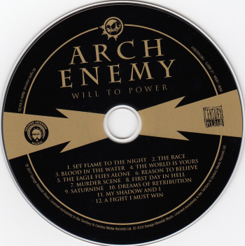 Arch Enemy Will To Power, Century Media, Savage Messiah Music europe, LP mint