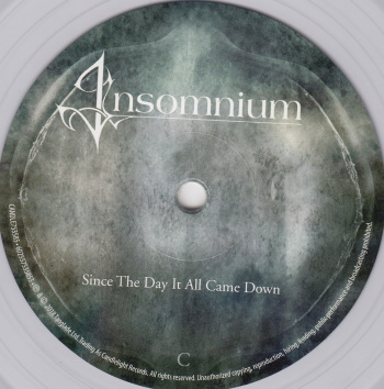 Insomnium Since The Day It All Came Down, Candlelight Records europe, LP clear
