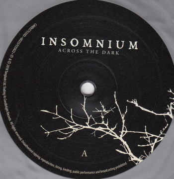 Insomnium Across The Dark, Candlelight Records, Spinefarm Records europe, LP silver