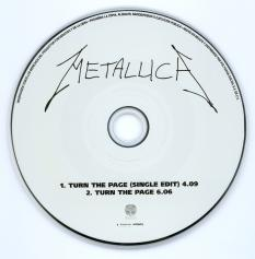 Metallica Turn The Page, Vertigo mexico, CD Promo