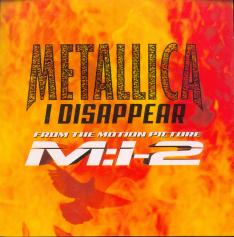 Metallica I Disappear, Hollywood germany, Single