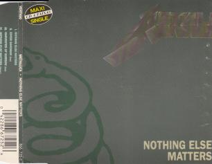 Metallica Nothing Else Matters, Vertigo/Polygram brazil, Maxi