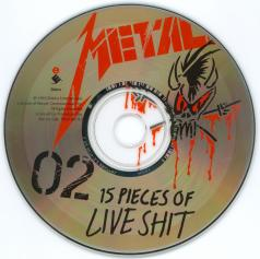 Metallica 15 Pieces Of Live Shit, Elektra usa, CD Promo