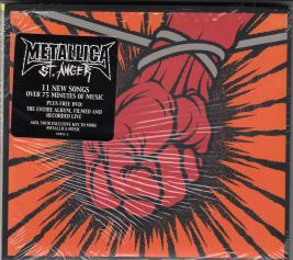 Metallica St Anger, Elektra usa, CD/DVD Promo
