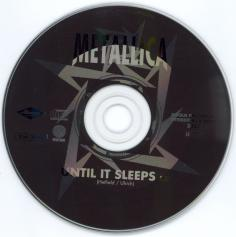 Metallica Until It Sleeps, Vertigo france, CD Promo