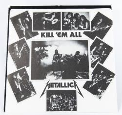 Metallica Kill'Em All, Elektra canada, LP Promo