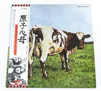Pink Floyd Atom Heart Mother, EMI, Toshiba Records japan, LP