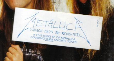Metallica Garage Days Re-Revisited, Elektra canada, EP