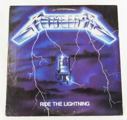 Metallica Ride The Lightning, Elektra usa, LP