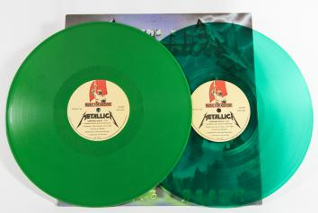 "Metallica Creeping Death, Music For Nations france, 12"" clear green"