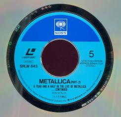 Metallica A Year And A Half In The Year Of Metallica, Sony japan, LD 12""