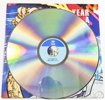 "Metallica A Year And A Half In The Year Of Metallica, Sony japan, LD 12"" Promo"
