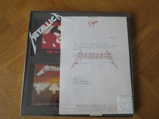 Metallica Virgin Megastore, Vertigo/MMC australia, Box set